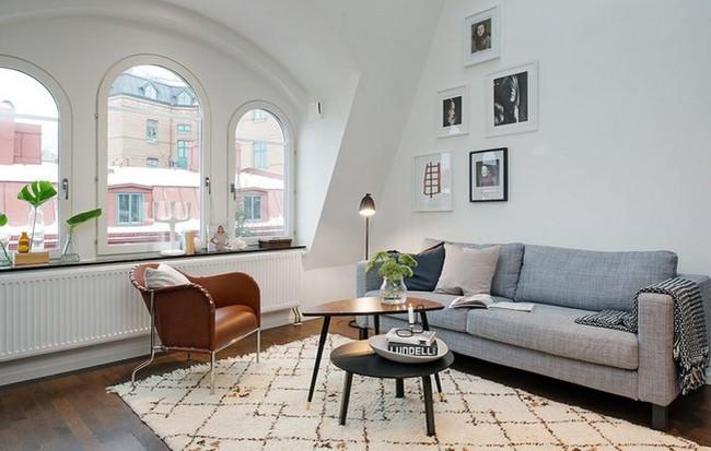 Mẫu thiết kế nội thất căn nhà chỉ 55m2 cho các gia đình trẻ