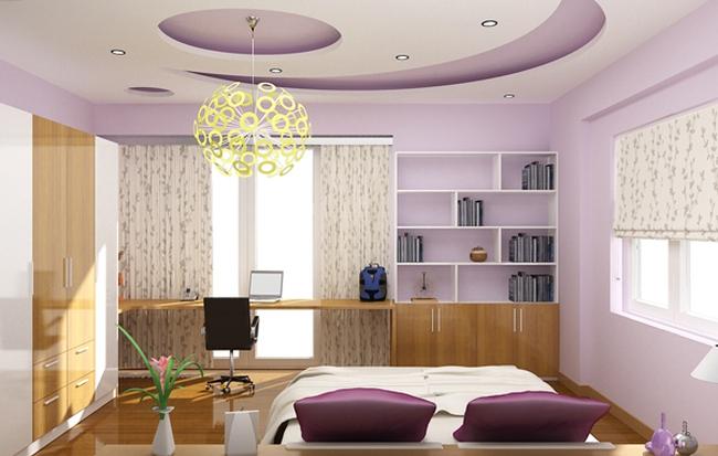 Thiết kế trần nhà cho căn hộ chung cư như thế nào thì tốt