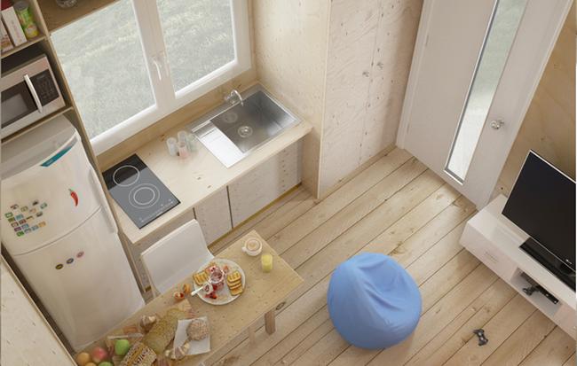 Xem mẫu Thiết kế nội thất  tuyệt đẹp của những ngôi nhà diện tích nhỏ
