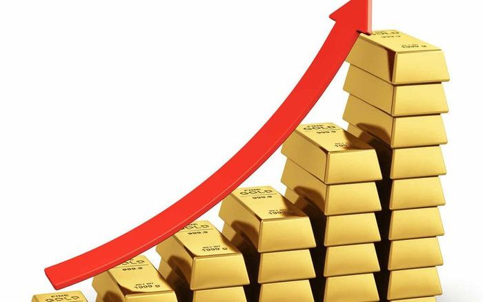 Giá vàng tiếp tục tăng dựng đứng, cao hơn chiều hôm qua 180 USD/ounce - giá vàng