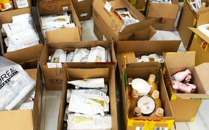 Phát hiện gần 1.600 sản phẩm Innisfree, Nangfa Sunscreen... nhập lậu