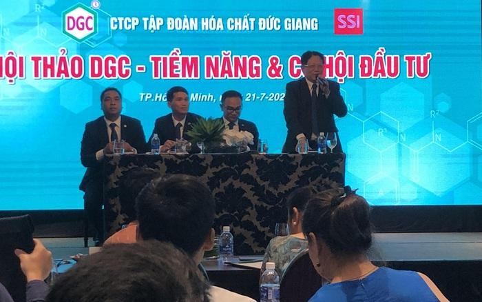 Chủ tịch Hóa chất Đức Giang (DGC): Sai lầm của chúng tôi là ngay từ đầu không niêm yết HoSE, hiện...