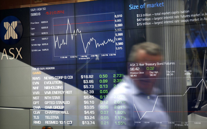 Sở giao dịch chứng khoán Úc dừng hoạt động do vấn đề thị trường