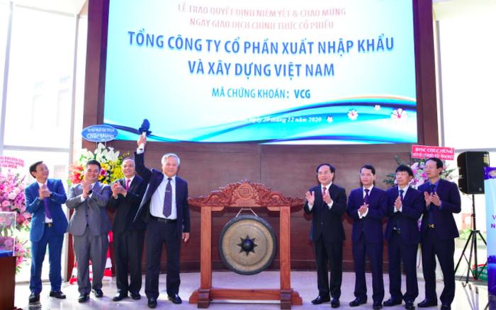 Vinaconex (VCG): Ước lợi nhuận 2020 đạt 1.500 tỷ đồng, vượt 83% chỉ tiêu