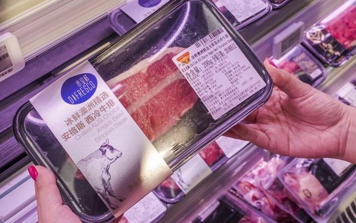 Trung Quốc mở rộng lệnh cấm nhập khẩu thịt bò Australia