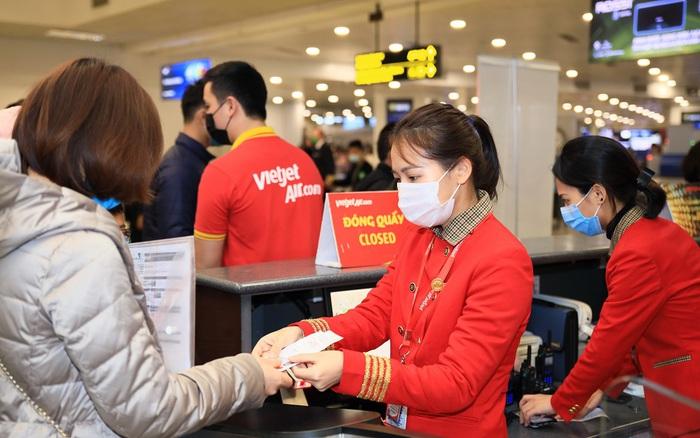 Vietjet tung 1,5 triệu vé đồng giá trọn gói 555.000 đồng bay suốt năm 2021