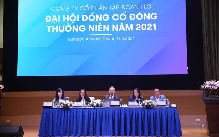 ĐHCĐ Tập đoàn FLC: Đặt mục tiêu lãi gấp 3 lần 2020, đưa Bamboo Airways lên sàn với giá 60 nghìn đồng/cổ vào quý 2/2021