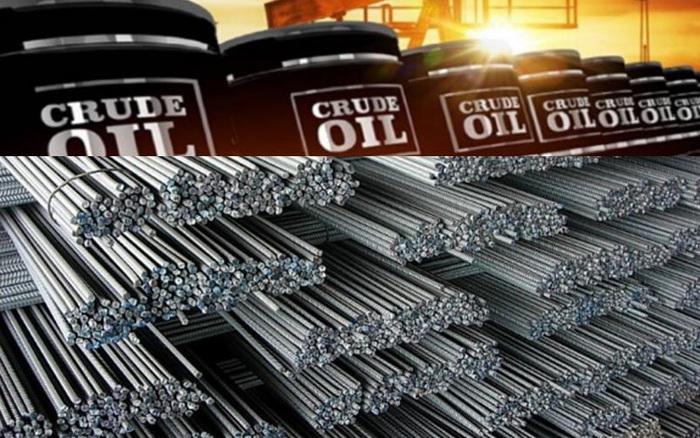 Thị trường ngày 13/4: Giá dầu tăng; vàng, đồng và thép giảm