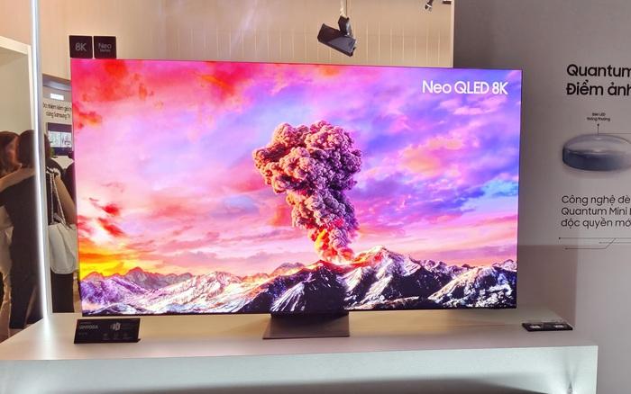 Samsung đưa dòng TV đầu bảng Neo QLED 8K về Việt Nam: Màn hình