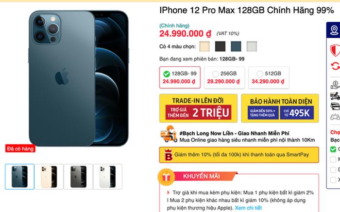 Giá iPhone 12 Pro Max đã qua sử dụng giảm sâu, tuy nhiên người dùng vẫn thờ ơ! Vì sao?
