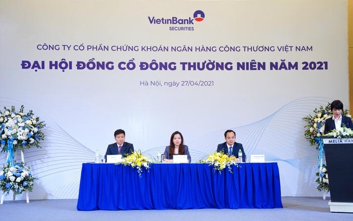 ĐHCĐ Vietinbank Securities (CTS): Tự tin cạnh tranh mảng cho vay margin với các CTCK ngoại, đặt kế hoạch lãi 180,5 tỷ đồng trong năm 2021