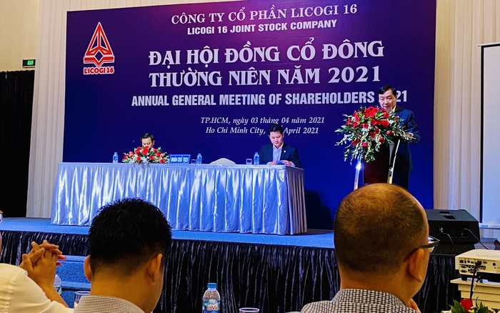ĐHĐCĐ Licogi 16 (LCG): Dự thoái hết vốn Nhà nước và phát hành 500 tỷ cổ phần mới, nếu không thành sẽ được ông Nguyễn Văn Nghĩa mua toàn bộ
