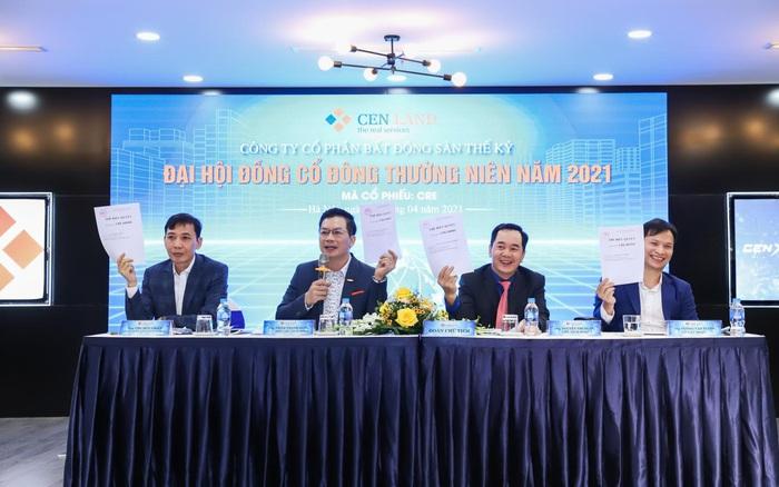 ĐHCĐ Cen Land (CRE) bất ngờ tăng kế hoạch kinh doanh năm 2021, mục tiêu trở thành nhà phân phối BĐS lớn nhất của Vinhomes với doanh thu 1 tỷ USD