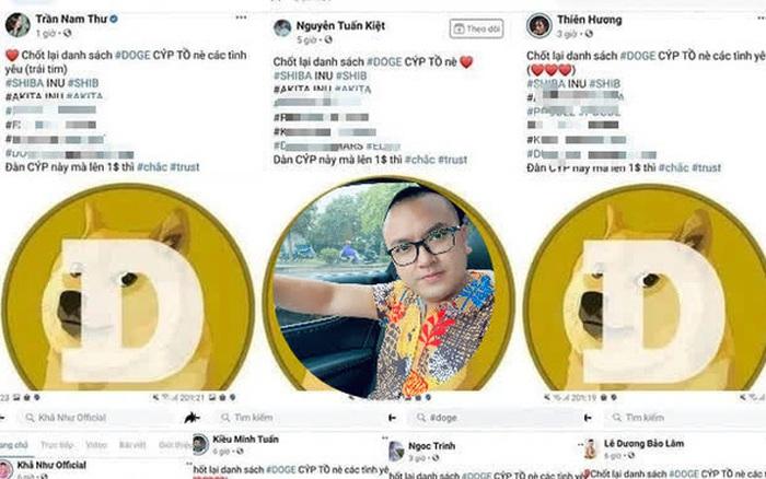 Facebook Ngọc Trinh, Nam Thư, Kiều Minh Tuấn... dùng chung hashtag, nghi vấn PR trá hình cho sàn Forex trái phép, từng bị Công an cảnh báo đa cấp biến tướng