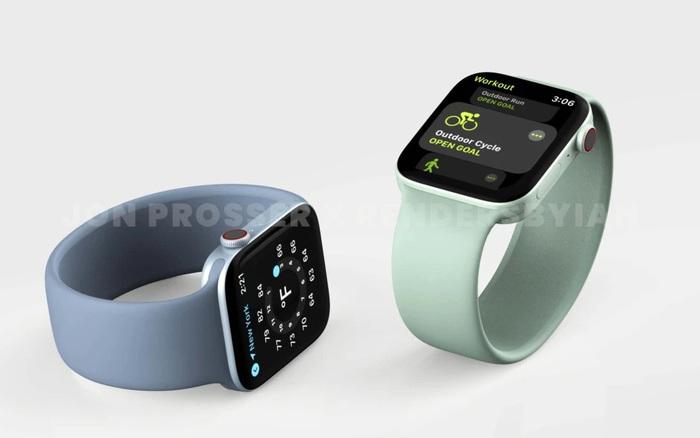 Lộ ảnh Apple Watch Series 7: Lần đầu thay đổi kiểu dáng?