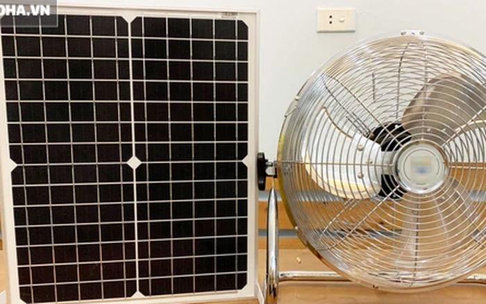300.000 đồng chiếc quạt năng lượng mặt trời, hàng