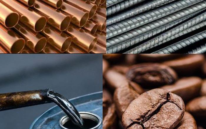 Thị trường ngày 7/5: Giá dầu giảm; nhôm, thép, nông sản cao kỷ lục; vàng vượt 1.800 USD/ounce - giá vàng