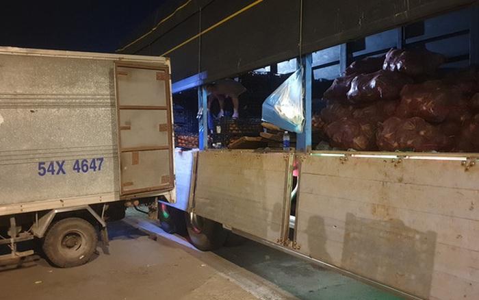 Chợ đầu mối Hóc Môn chuẩn bị mở cửa cho việc trung chuyển hàng hóa về TP HCM