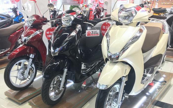 Xe máy ế ẩm, giá Winner X lao dốc gần 13 triệu, Honda SH, Vision…  giảm sốc