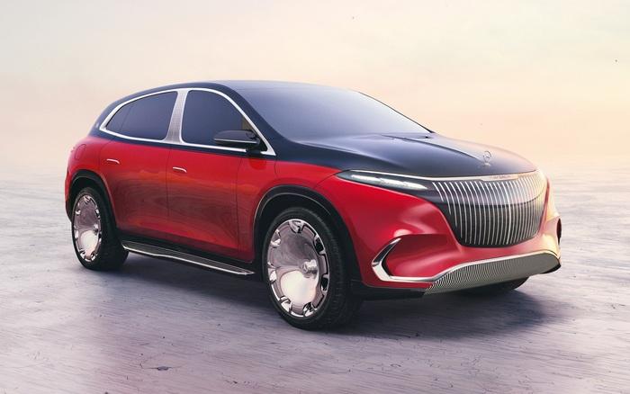 Mercedes Maybach EQS SUV concept ra mắt: Thiết kế tương lai, nội thất hạng A+, SUV siêu sang trong mơ cũng chỉ đến thế